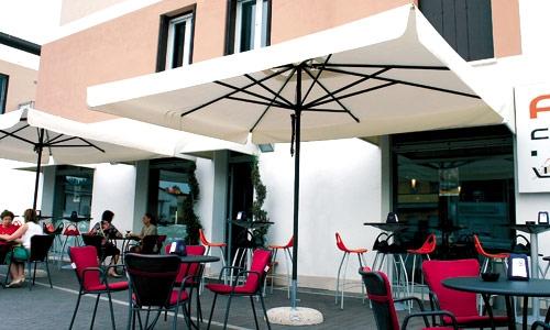 Зонты для кафе алюминиевые Неаполь 3х4м ткань 100% акрил