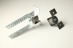 Звукоизолирующие универсальные крепления Vibrofix Protector Виброфикс Протектор для подвесных потолках и облицовок стен