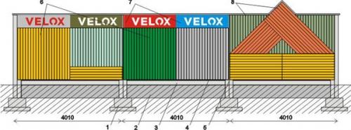 Звукоизоляционная стена VELOX. Противошумовые стены, звуковые барьеры.