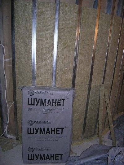 Фото  1 Звукопоглощающая плита Шуманет-БМ 1200*600*50 мм 2246089